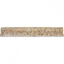 MS International Gold Rush 2 in. x 12 in. Polished Granite Rail Moulding Wall Tile (10 ln. ft. / case)