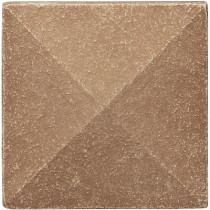 Weybridge 2 in x 2 in. Cast Stone Pyramid Dot Noche Tile (10 pieces / case) - Discontinued