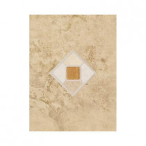 Daltile Brancacci Fresco Caffe 9 in. x 12 in. Ceramic Accent Wall Tile-DISCONTINUED
