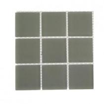 Splashback Tile Contempo Natural White Frosted Glass Tile Sample