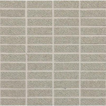Daltile Identity Cashmere Gray Fabric Porcelain Sheet-Mounted Floor and Wall Tile (9 sq. ft. / case)-DISCONTINUED