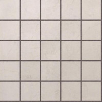 U.S. Ceramic Tile Murano Light Grey 12 in. x 12 in. Glazed Porcelain Mosaic Floor & Wall Tile-DISCONTINUED