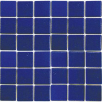 EPOCH Oceanz Pacific-1702 Mosaic Recycled Glass Anti Slip 12 in. x 12 in. Mesh Mounted Floor & Wall Tile (5 sq. ft.)