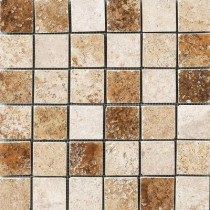 MARAZZI Montagna Blended 12 in. x 12 in. Porcelain Mosaic Floor and Wall Tile