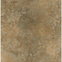 ELIANE Milano 12 in. x 12 in. Walnut Porcelain Floor and Wall Tile-DISCONTINUED