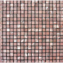 MS International Rojo Alicante 12 in. x 12 in. x 10 mm Tumbled Marble Mesh-Mounted Mosaic Tile (10 sq. ft. / case)