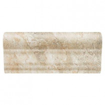 Daltile Folkstone Slate Sandy Beach 2 in. x 6 in. Counter Rail Wall Tile