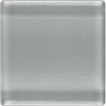 Daltile Isis Pewter Gray 12 in. x 12 in. x 3 mm Glass Mesh-Mounted Mosaic Wall Tile