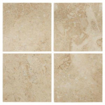 Jeffrey Court Cappuccino 6 in. x 6 in. Marble Floor/Wall Tile (1 pk /4 pcs-1 sq. ft.)