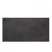 Daltile Veranda Gunmetal 6-1/2 in. x 20 in. Porcelain Floor and Wall Tile (10.32 sq. ft. / case)