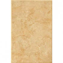 ELIANE Illusione 8 in. x 12 in. Caramel Ceramic Wall Tile (16.15 sq. ft./Case)-DISCONTINUED