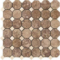 MARAZZI Campione Andretti 12 in. x 12 in. x 8.7 mm Porcelain Mosaic Floor and Wall Tile