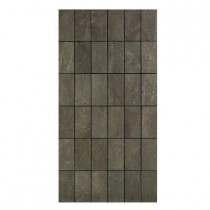 U.S. Ceramic Tile Avila 12 in. x 24 in. Alga Porcelain Mosaic Tile-DISCONTINUED