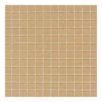 Daltile Maracas Golden Rod 12 in. x 12 in. 8mm Frosted Glass Mesh Mount Mosaic Wall Tile-DISCONTINUED