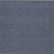 Elementz 12.8 in. x 12.8 in. Venice Fleet Blue Glossy Glass Tile-DISCONTINUED