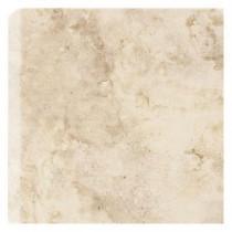 Daltile Brancacci Windrift Beige 6 in. x 6 in. Ceramic Bullnose Corner Trim Wall Tile