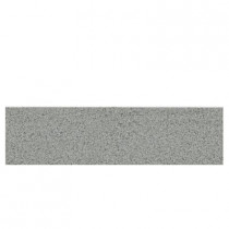 Daltile Colour Scheme Desert Gray 3 in. x 12 in. Porcelain Bullnose Floor and Wall Tile