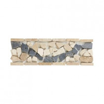 Jeffrey Court Ravenna 4 in. x 12 in. Travertine Floor/Wall Accent Strip