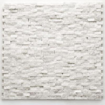 Solistone Modern Beaux 12 in. x 12 in. x 9.5mm Quartzite Natural Stone Mesh-Mounted Mosaic Wall Tile (10 sq. ft./Case)