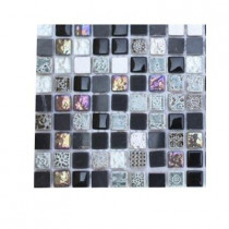 Splashback Tile Aztec Art Blackboard Glass Tile Sample