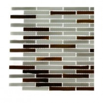 Splashback Tile Matchstix Chandartal River Glass Tile Sample