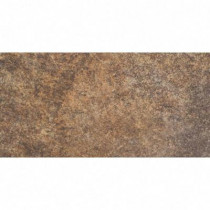 MARAZZI Granite Marron 6 in. x 12 in. Glazed Porcelain Floor and Wall Tile (9.69 sq. ft./case)-DISCONTINUED