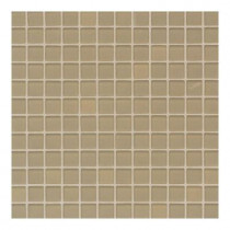 Daltile Maracas Honey Comb 12 in. x 12 in. 8mm Frosted Glass Mesh Mounted Mosaic Wall Tile (10 sq. ft. / case)-DISCONTINUED