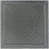 Daltile Urban Metals Stainless 2 in. x 2 in. Composite Spiral Insert Trim Wall Tile