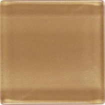 Daltile Isis Amber Gold 12 in. x 12 in. x 3 mm Glass Mesh-Mounted Mosaic Wall Tile
