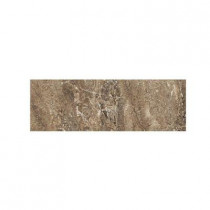 Daltile Campisi Sable 3 in. x 9 in. Ceramic Bullnose Wall Tile