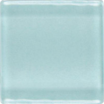 Daltile Isis Whisper Blue 12 in. x 12 in. x 3mm Glass Mesh-Mounted Mosaic Wall Tile