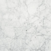 Daltile Natural Stone Collection Carrara Gioia 12 in. x 12 in. Polished Marble Floor and Wall Tile (10 sq. ft. / case)