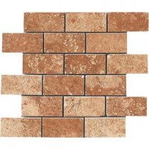 MARAZZI Montagna Soratta 12 in. x 12 in. Porcelain Brick-Joint Mosaic Floor and Wall Tile