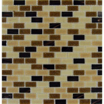 MS International Desert Spring 12 in. x 12 in. x 6mm Glass Mesh-Mounted Mosaic Tile