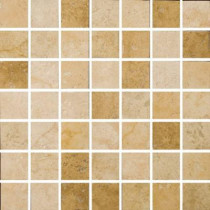 Emser Piozzi 2 in. x 2 in. / 13 in. x 13 in. Glazed Porcelain Mosaic Blend Floor and Wall Tile-DISCONTINUED