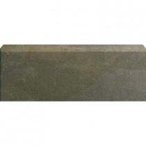 U.S. Ceramic Tile Avila Alga 12 in. x 3-1/4 in. Glazed Ceramic Single Bullnose Tile-DISCONTINUED