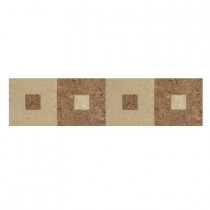 U.S. Ceramic Tile Orion 4 in. x 16 in. Beige Porcelain Listel Floor and Wall Tile-DISCONTINUED