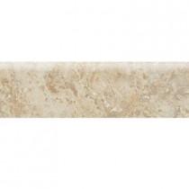Daltile Heathland Raffia 3 in. x 12 in. Glazed Ceramic Bullnose Floor and Wall Tile