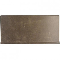 Emser Pamplona 6 in. x 13 in. Traviata Ceramic Bullnose Cove Floor and Wall Tile