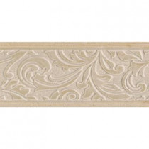 Daltile Brixton Bone 4 in. x 9 in. Ceramic Decorative Wall Tile