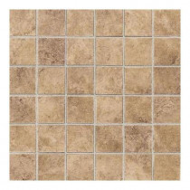 Daltile Salerno Marrone Chiaro 12 in. x 24 in. 6 mm Glazed Ceramic Mosaic Floor and Wall Tile (24 sq. ft. / case)