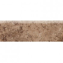 Daltile Heathland Edgewood 3 in. x 9 in. Glazed Ceramic Bullnose Wall Tile