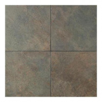 Daltile Continental Slate Brazilian Green 18 in. x 18 in. Porcelain Floor and Wall Tile (18 sq. ft. / case)