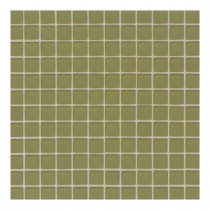 Daltile Maracas Cactus 12 in. x 12 in. x 8 mm Frosted Glass Mesh Mounted Mosaic Wall Tile