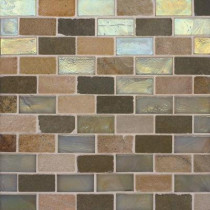 Studio E Edgewater 10-5/8 in. x 10-5/8 in. Stone Steps Mosaic Tile-DISCONTINUED