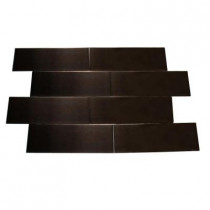 Splashback Tile Metal Copper 2 in. x 6 in. Stainless Steel Floor and Wall Tile (1 sq. ft./case)