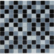 EPOCH Dancez Carinosa Mosaic Glass Mesh Mounted Tile - 3 in. x 3 in. Tile Tile Sample