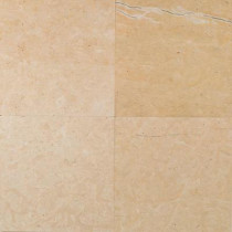 Daltile Natural Stone Collection Champagne Gold 16 in. x 16 in. Honed Floor Marble Floor and Wall Tile (8.6 sq. ft. / case)