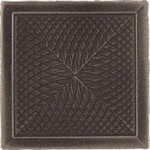 Daltile Urban Metals Bronze 2 in. x 2 in. Composite Spiral Insert Trim Wall Tile