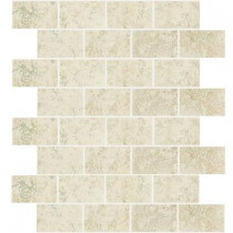 Daltile Briton Bone 12 in. x 12 in. x 8 mm Mosaic Wall Tile
